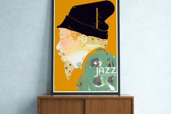 Finn Nygaard - Jazz plakatens mester