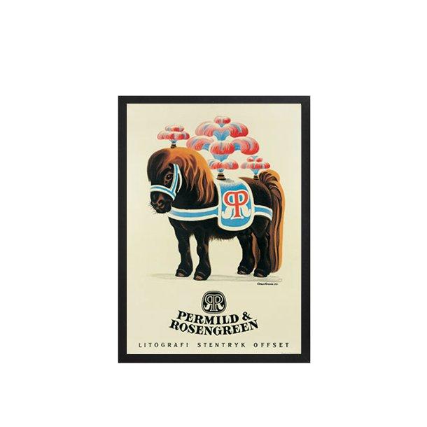 Postkort Hansen, Aage, AØA - Cirkushest / H 1