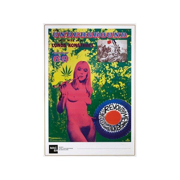 Johannesson, Underground 1969 plakat