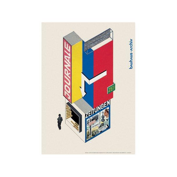 Bauhaus, Bayer - Zeitungkiosk