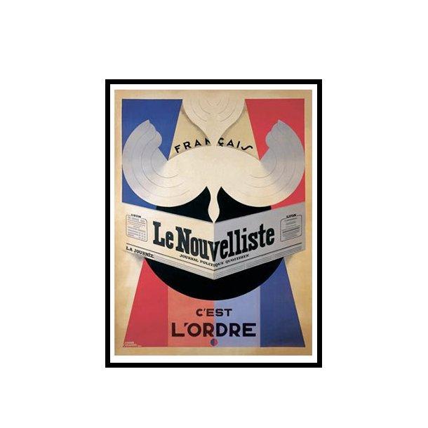 Cassandre, 1924 - Le Nouvelliste