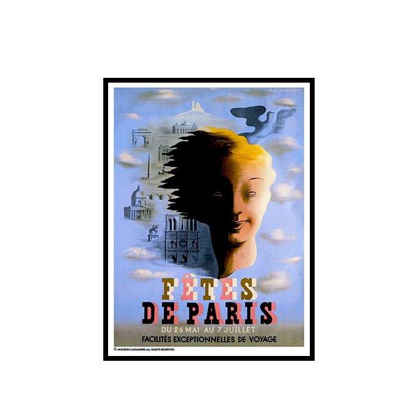 Cassandre, 1935 - Fêtes de Paris