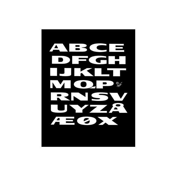 Friis, Alfabetet
