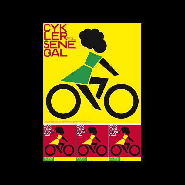 Jensen, Cykler Til Senegal