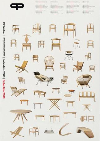 Koch, PP m?bler - Collection - Design plakater - Permild & Rosengreen