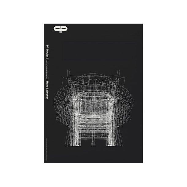 Koch, PP møbler - H. J. Wegner - Sort