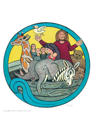 Heerup 4 Noahs Ark Kunst Plakater Permild Rosengreen