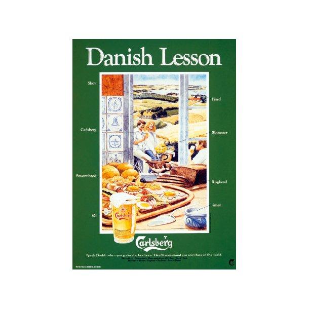 Carlsberg, Danish Lesson