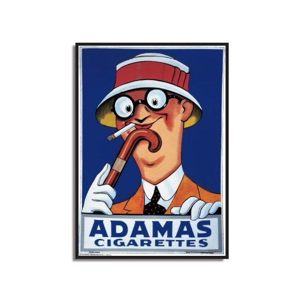 Adamas Cigarettes lippert, adamas cigarettes - stok 2 - retro plakater - permild