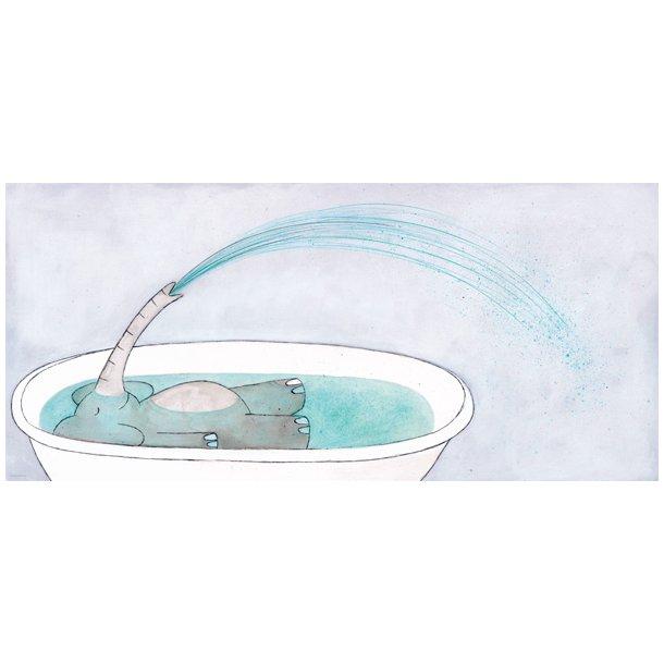 Bartholin, Lille Nø i bad