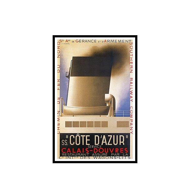 Cassandre, 1931 - Côte D'Azur