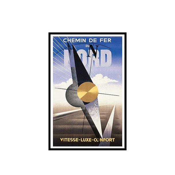 Cassandre, 1929 - Chemin De Fer du Nord