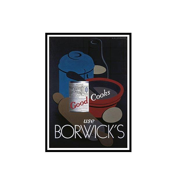 Cassandre, 1935 - Borwick's