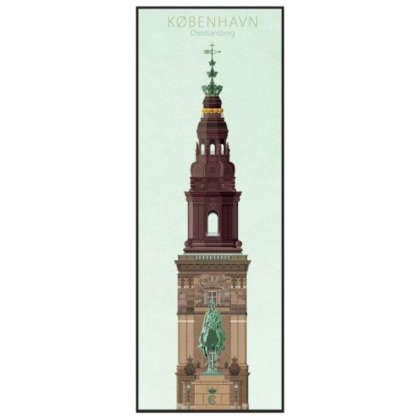 Jal, Københavns tårne, Christiansborg