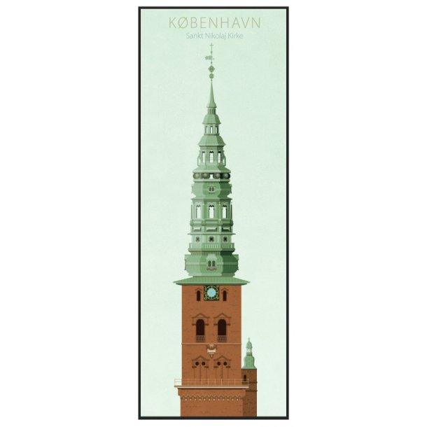 Jal, Københavns tårne, Sankt Nikolaj Kirke