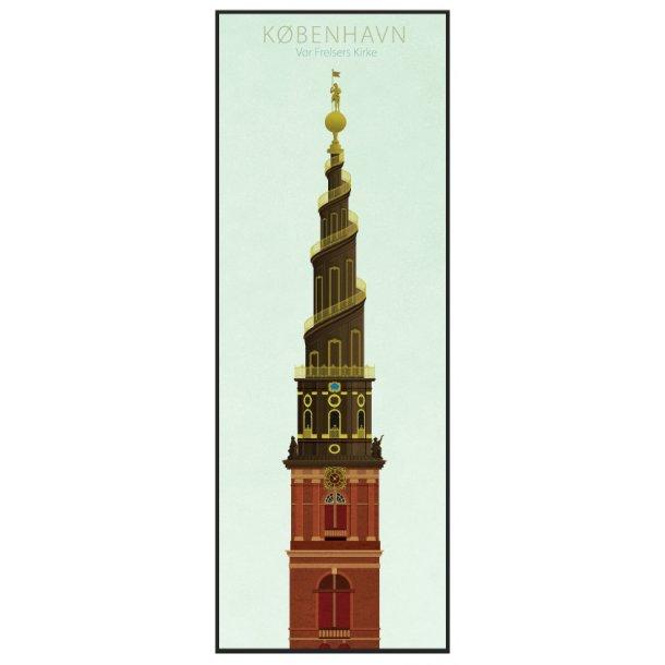 Jal, Københavns tårne, Vor Frelser Kirke