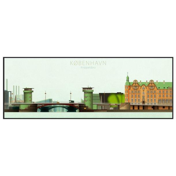 Jal, L - Københavns tårne, Knippelsbro