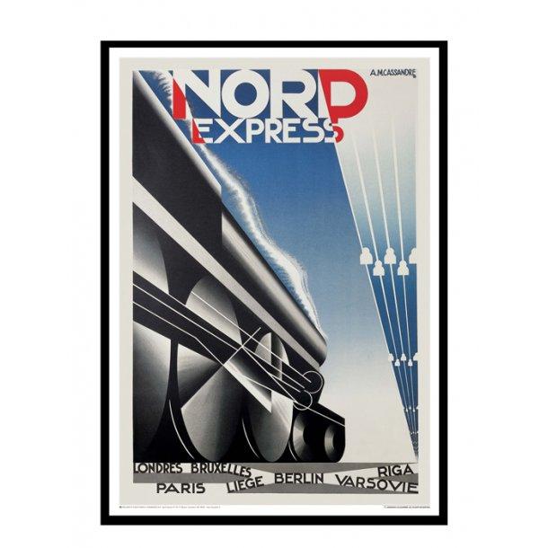 Cassandre, 1927 - Nord Express