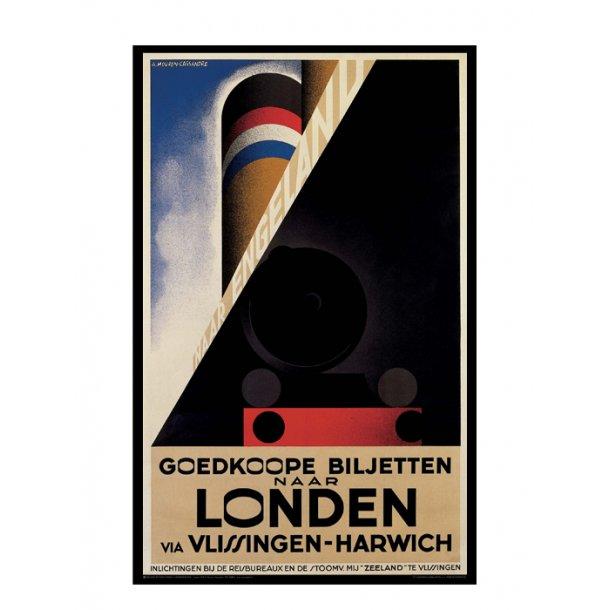 Cassandre, 1928 - Londen