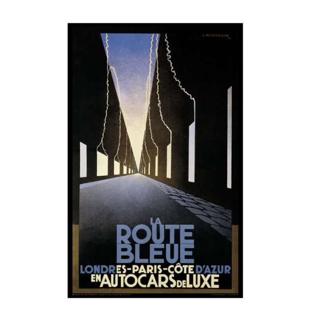 Cassandre, 1929 - La Route Bleue
