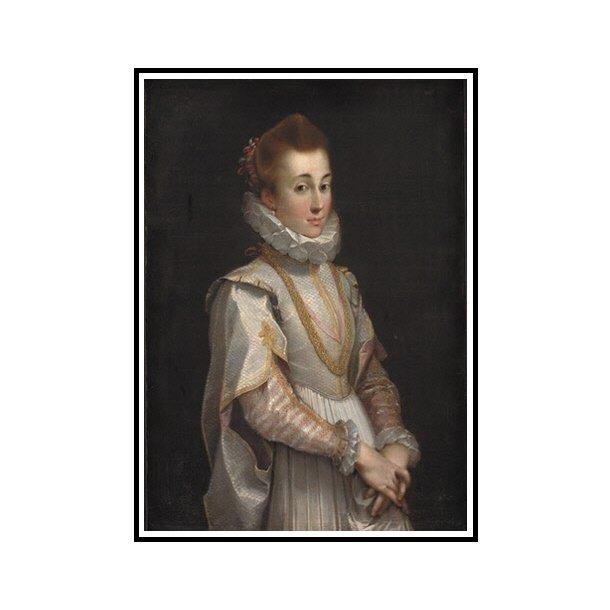Barocci, Portræt af en ung dame