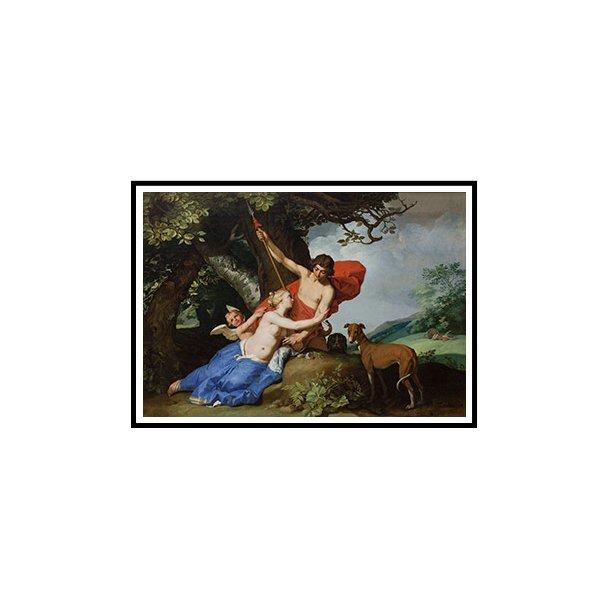 Bloemaert, Venus og Adonis