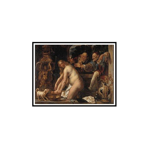 Jordaens, Susanna og de to ældste