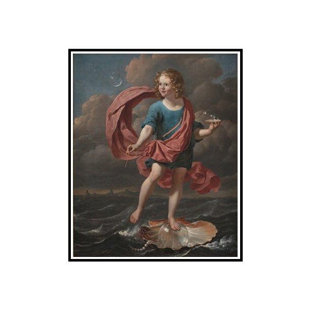 Dujardin, Dreng, der blæser sæbebobler