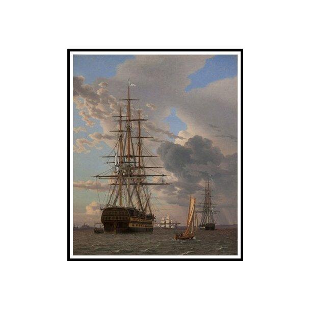 Eckersberg, Det russiske linieskib