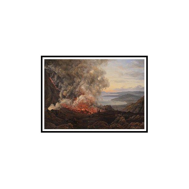 Dahl, Vesuvs udbrud