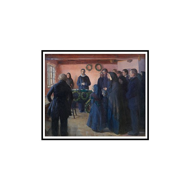 Ancher, En begravelse