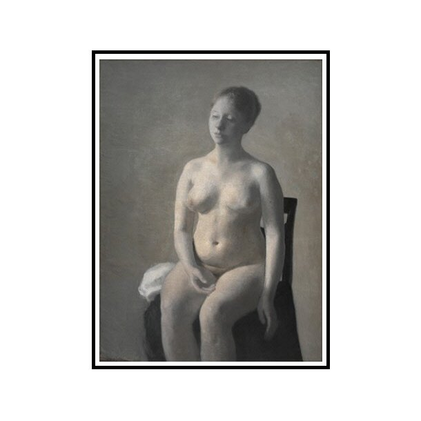 Hammershøi, Nøgen kvindelig model