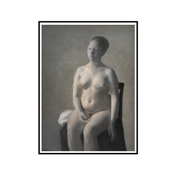 Hammershøi, Nude female model