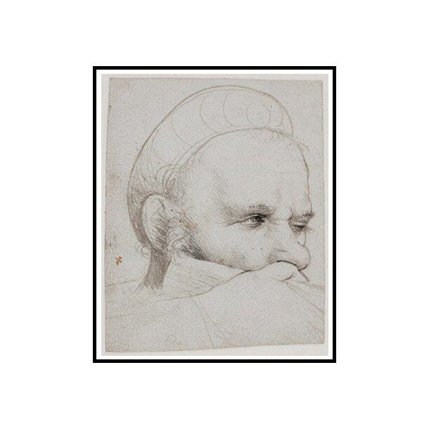 Holbein den Ældre, Hoved af en armbrøstskytte