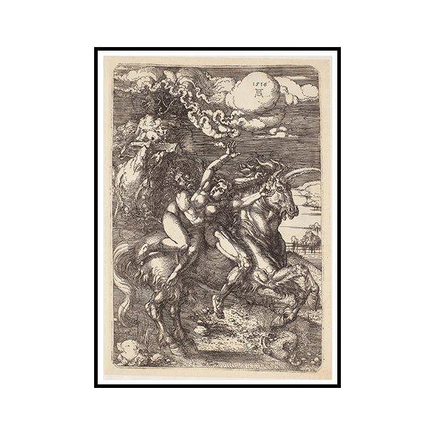 Dürer, Bortførelse på en enhjørning