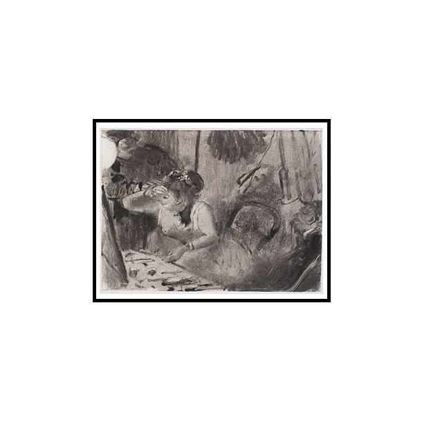 Degas, Intimitet