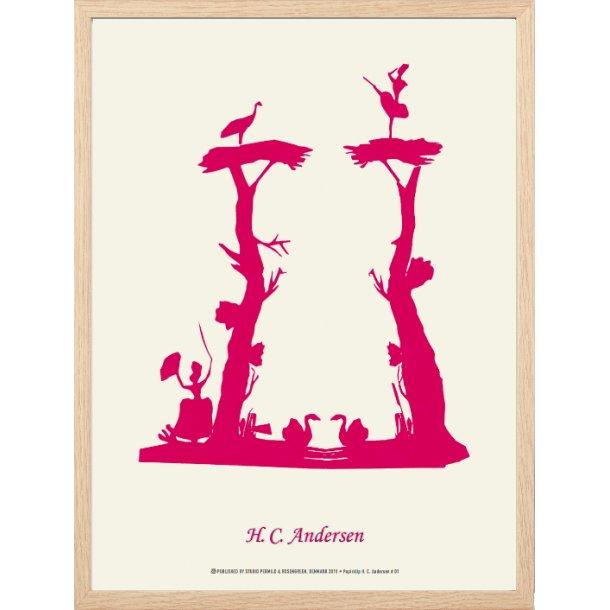 Andersen, H.C - To træer med figurer / 01