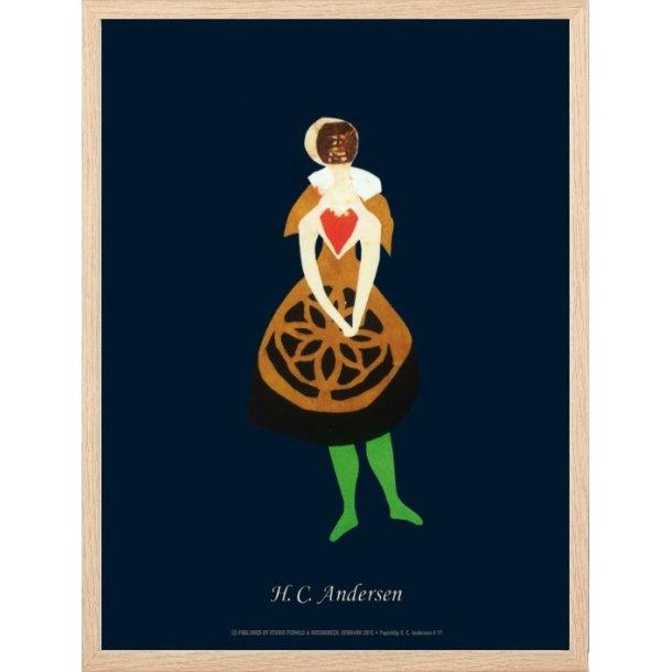 Andersen, H.C - B - Kvinde med sort skørt / 17