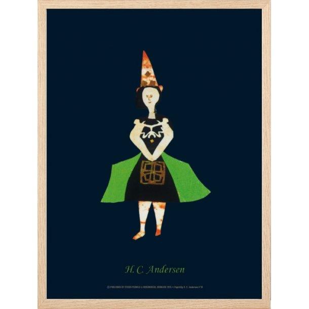 Andersen, H.C - B - Dame med spids hat / 18