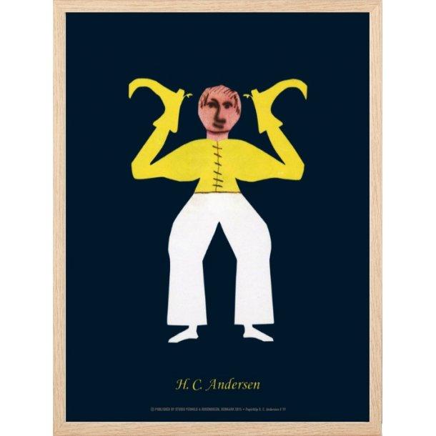 Andersen, H.C - B - Mand med gul bluse / 19