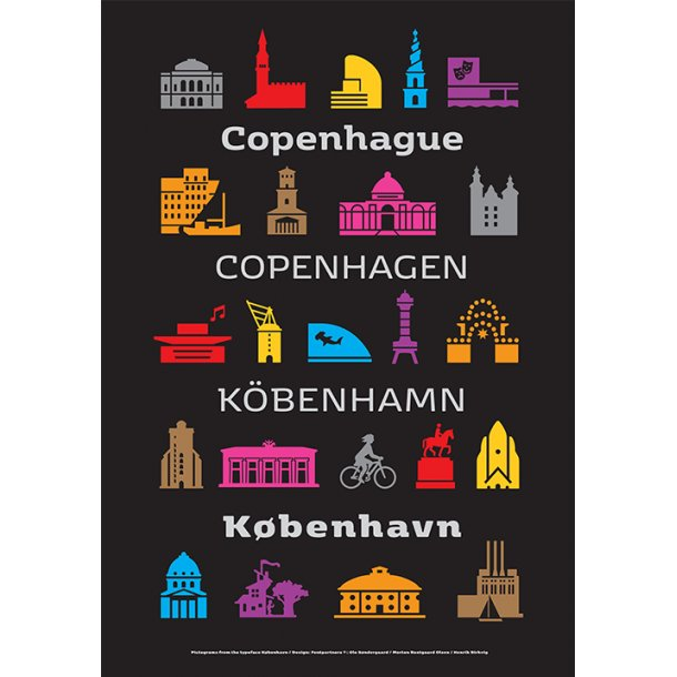 Fontpartners, Pictograms from the typeface København / 2