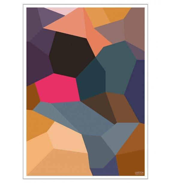 Abstrakt plakat 0.1