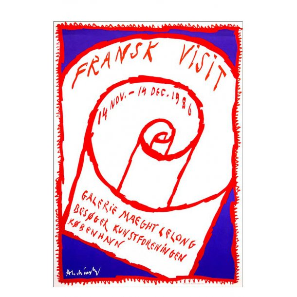 Alechinsky - Fransk visit Galerie Maeght