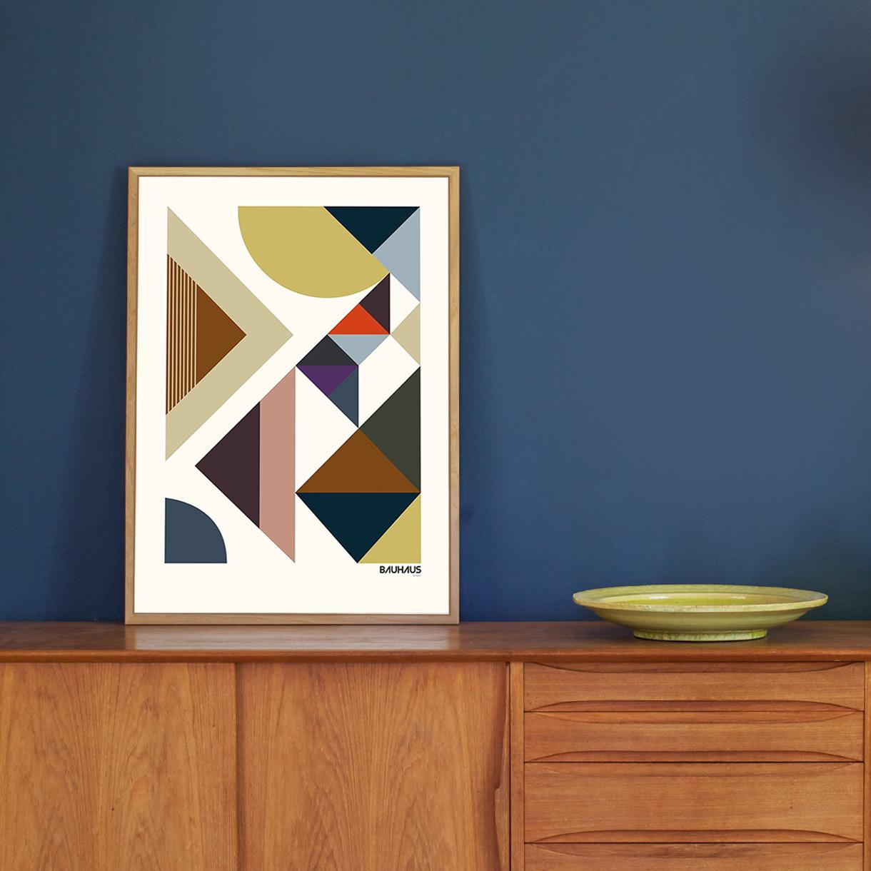 Picture of: Stilfuld Bauhausplakat Bauhaus Artform Plakat