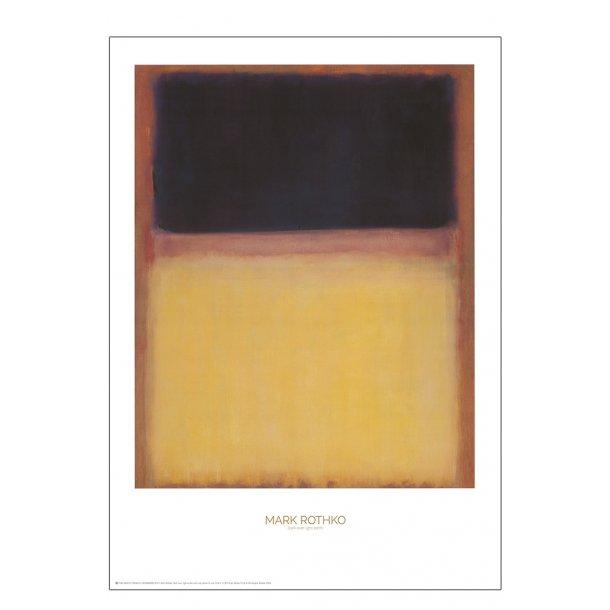 Mark Rothko. Dark over light earth