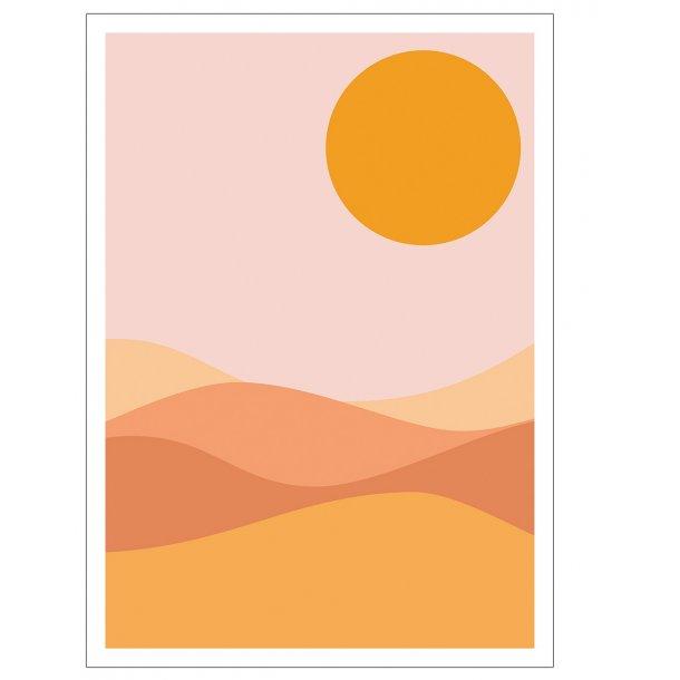 Desert. Plakat
