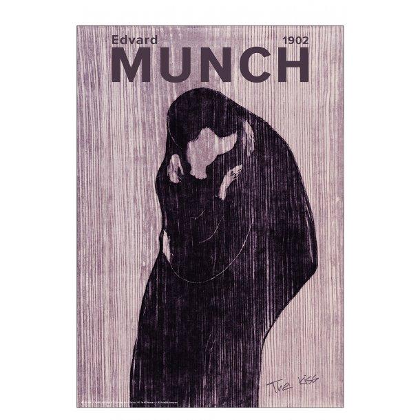 Edvard Munch. Kysset. Lilla