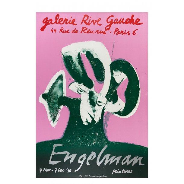 Engelman (Original litografi plakat)