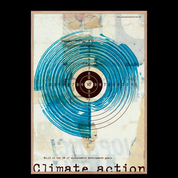 FN's verdensmålsplakat nr. 13. Akustikbillede