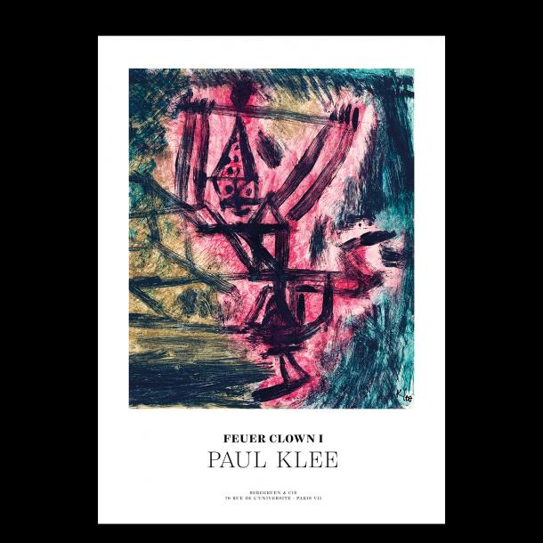 Paul Klee. Feuer Clown 1